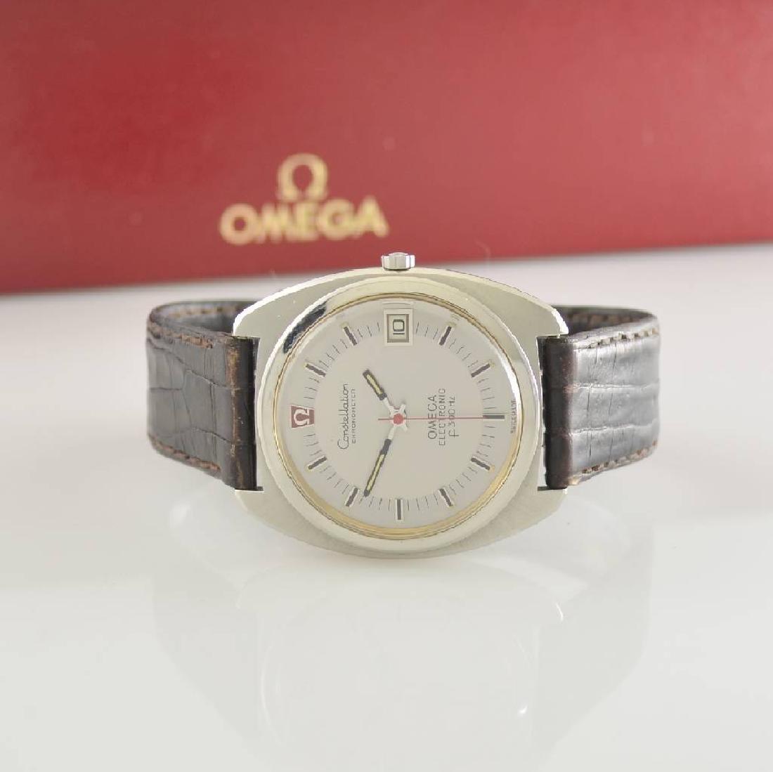 OMEGA Constellation chronometer electronic f300Hz