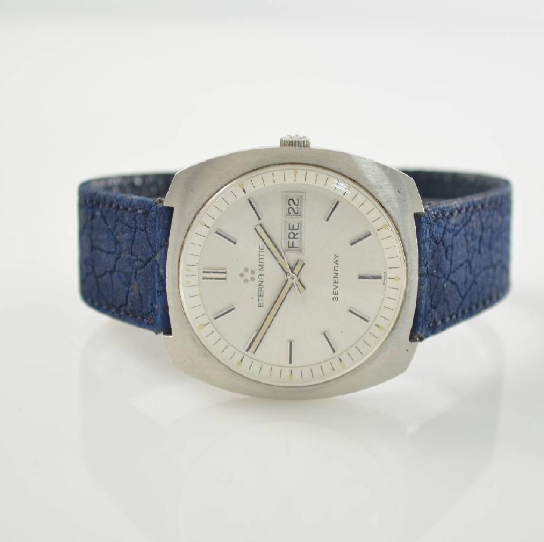 ETERNA-MATIC Sevenday gents wristwatch
