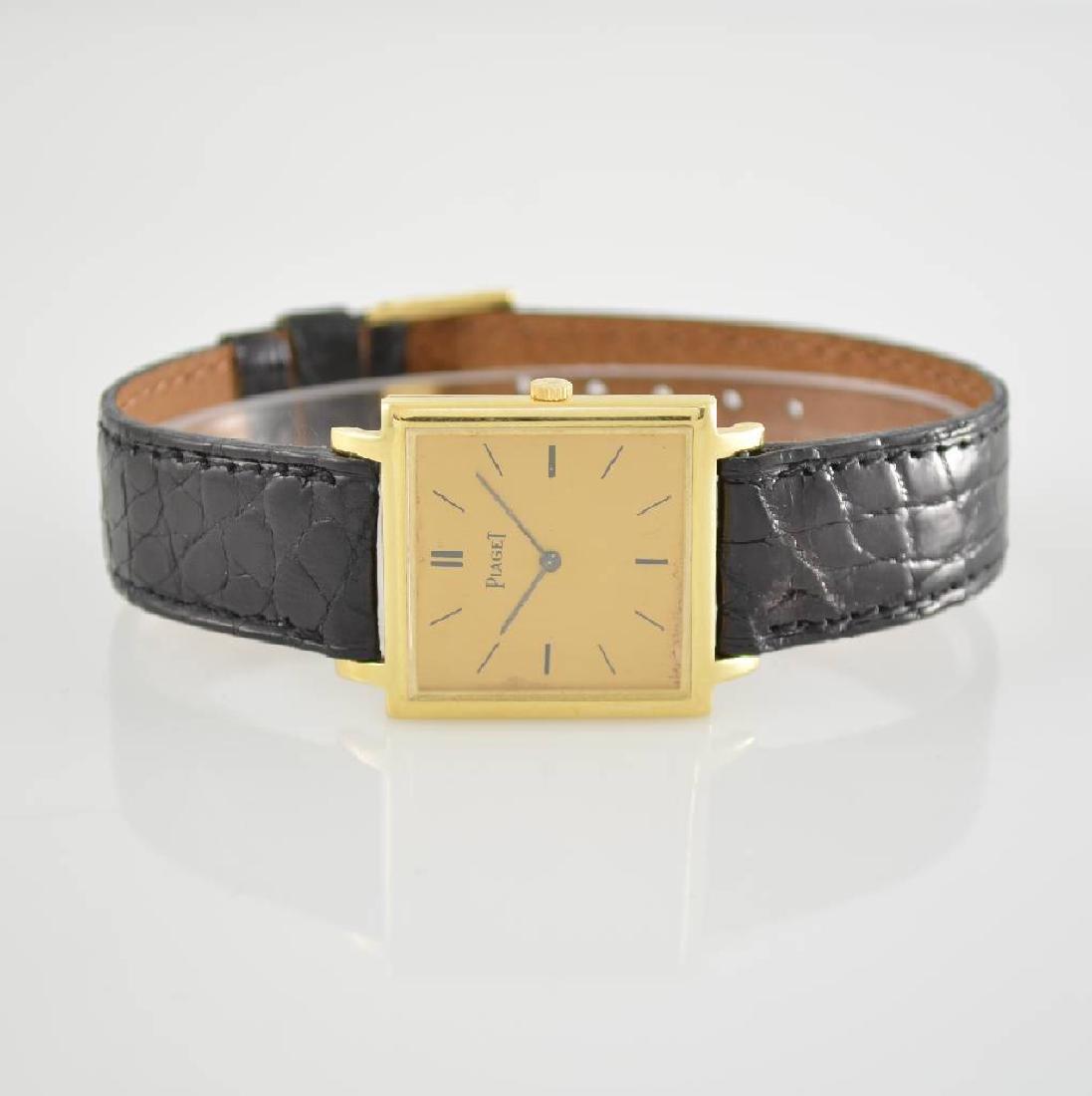 PIAGET fine 18k yellow gold wristwatch