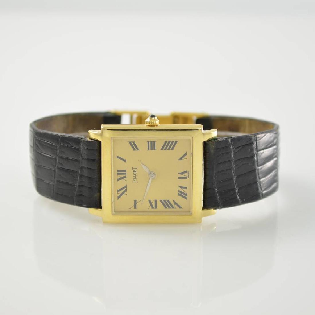 PIAGET very fine 18k yellow gold wristwatch