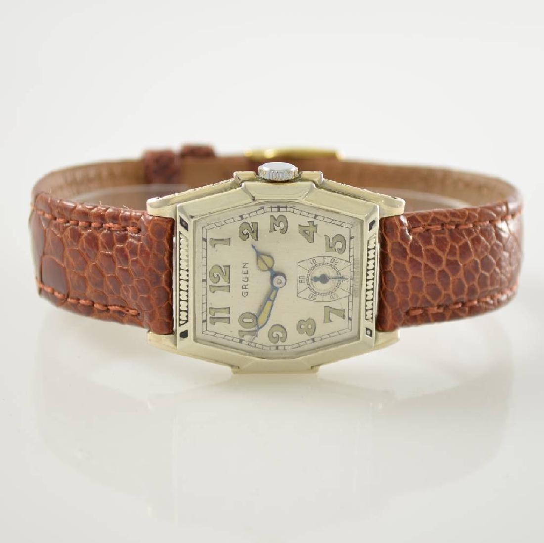 GRUEN unusual wristwatch, Switzerland around 1929