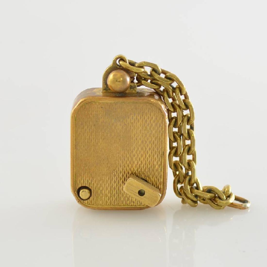 REUGE small pendant-music box, Switzerland around 1950