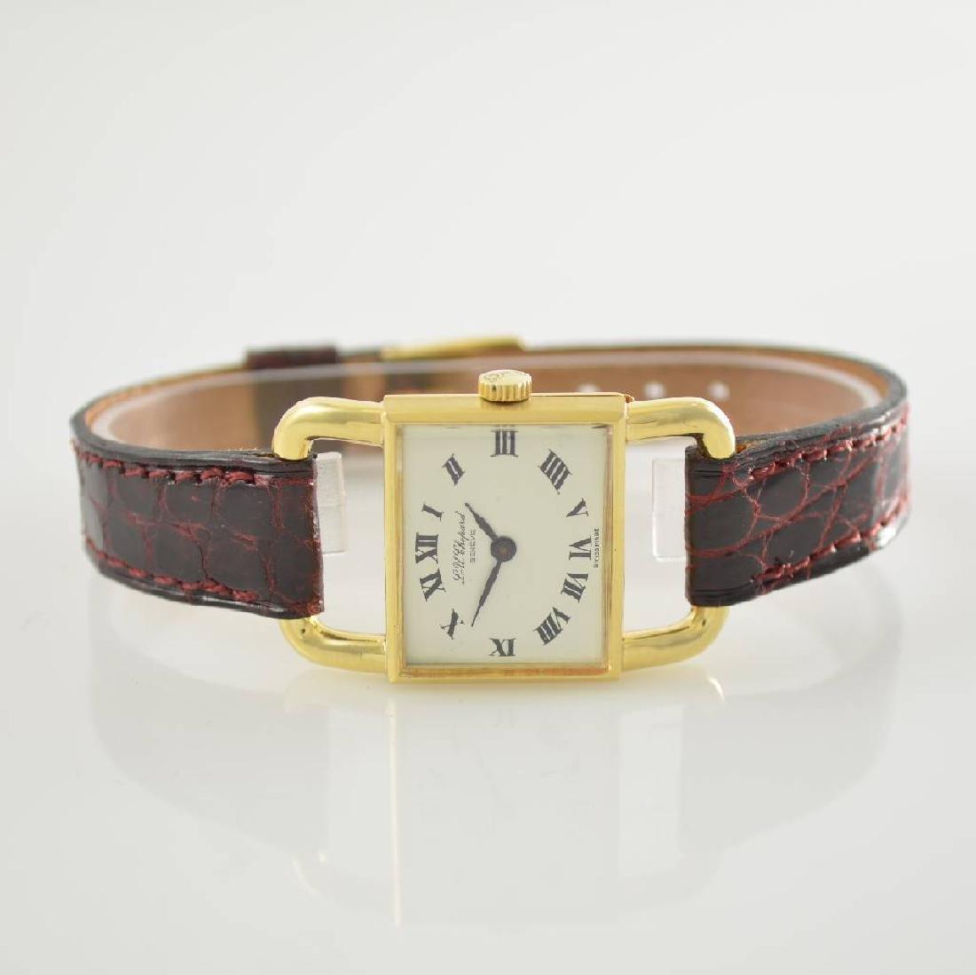 CHOPARD 'Etrier' 18k yellow gold ladies wristwatch