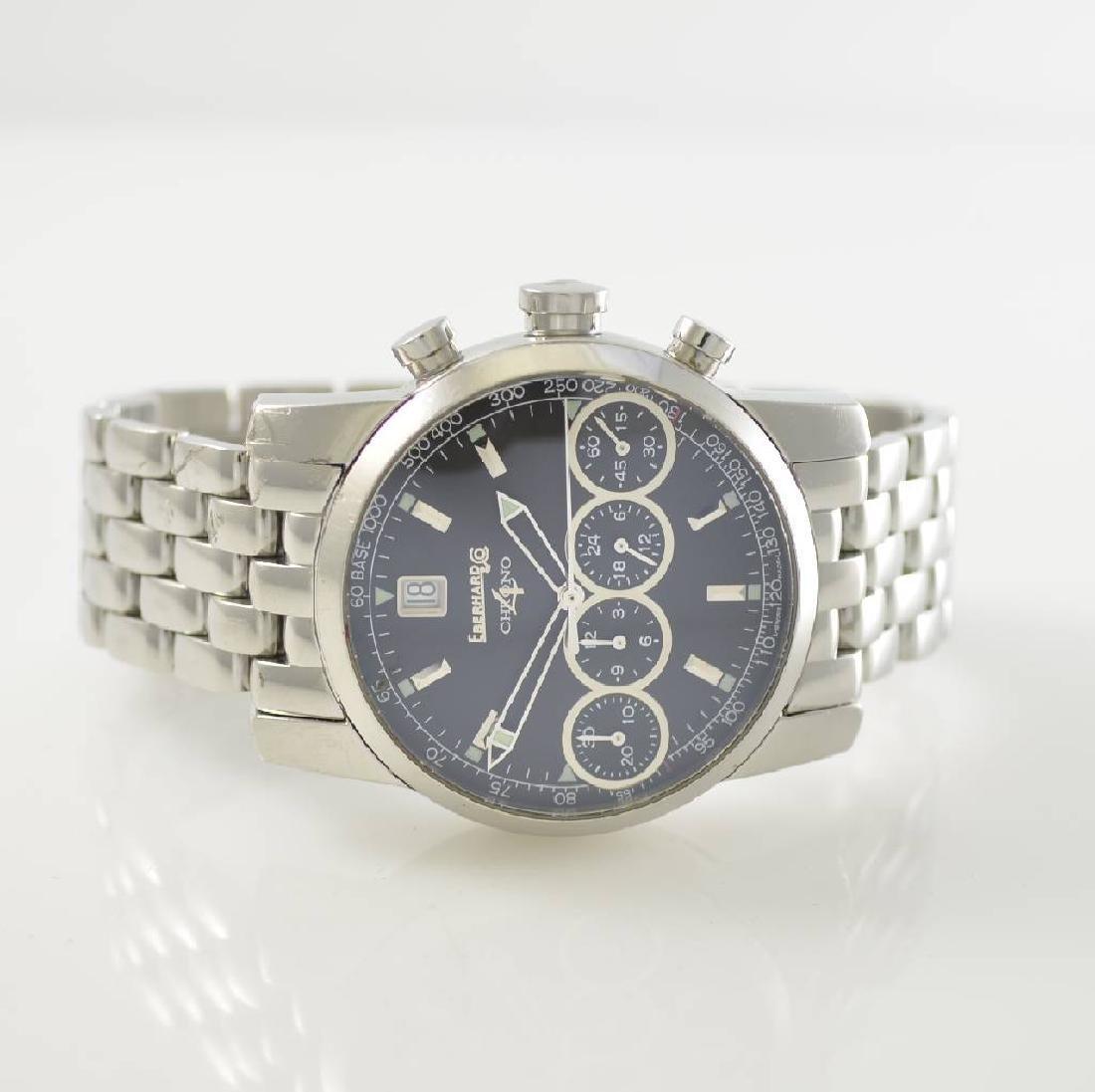 EBERHARD Chrono-4 gents wristwatch with chronograph