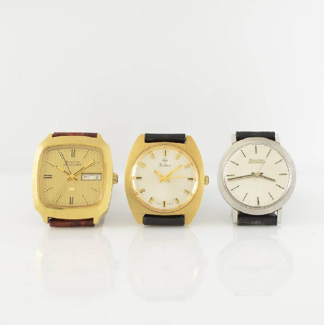 Set of 3 unworn gents wristwatches