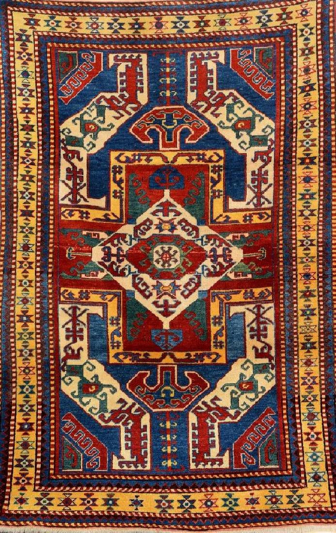 Kasim-Ushag Kazak Rug (Re-Production),