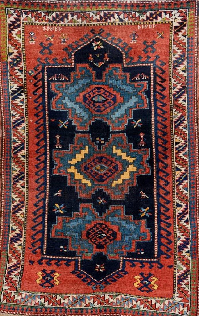 Lesghi Kazak Rug,