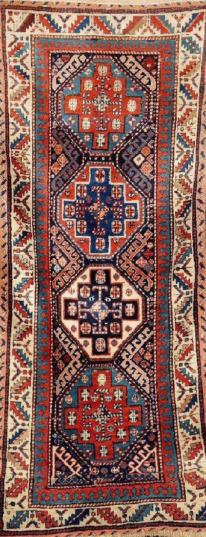Kazak Rug (Fragment),
