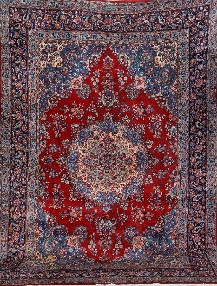 Sabzewar Carpet (Signed),