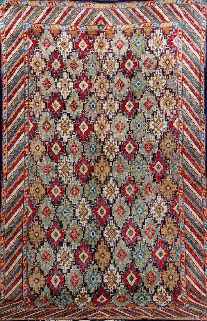 Unusual Kashan 'Farschian Brothers' Carpet (Signed),