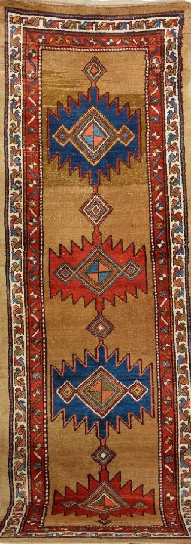 Northwest Persian 'Part Camel-Wool' Runner,