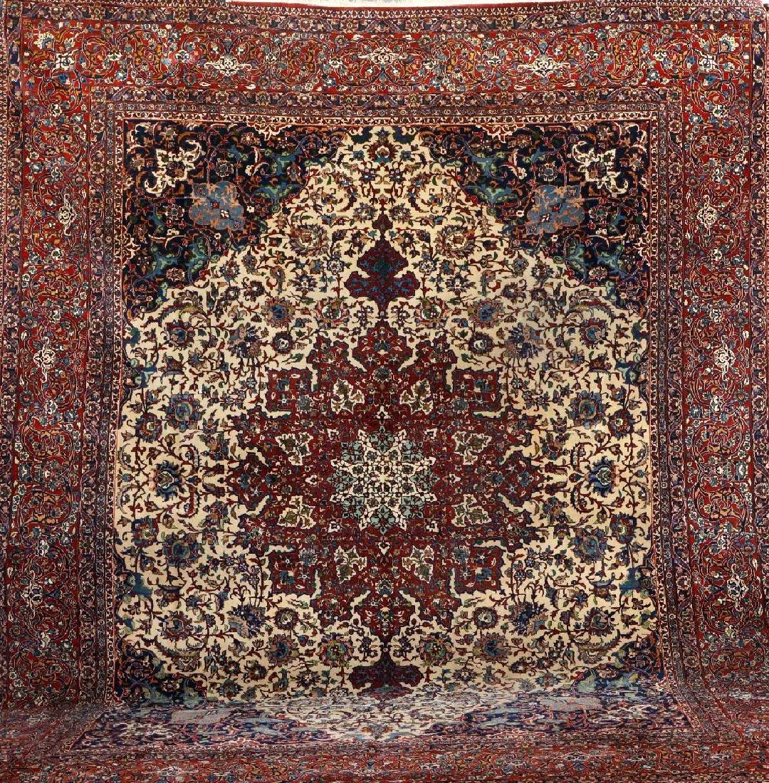 Fine Isfahan Carpet,