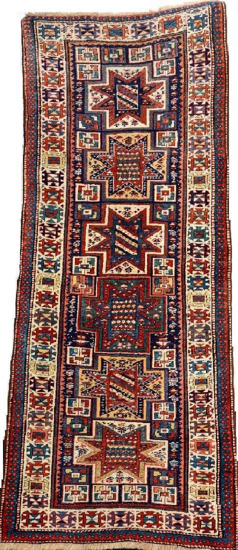 Kazak 'Long Rug' (Star Design),