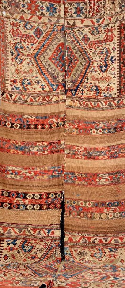 Large Ayidin-Kilim (Part Camel-Wool) 'Camel- Saddle',
