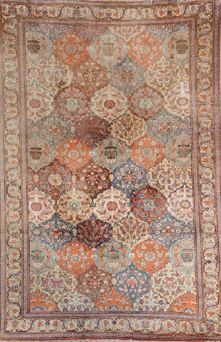 Kaisery-Flosh Carpet (Safavid Kirman-Vase Design),