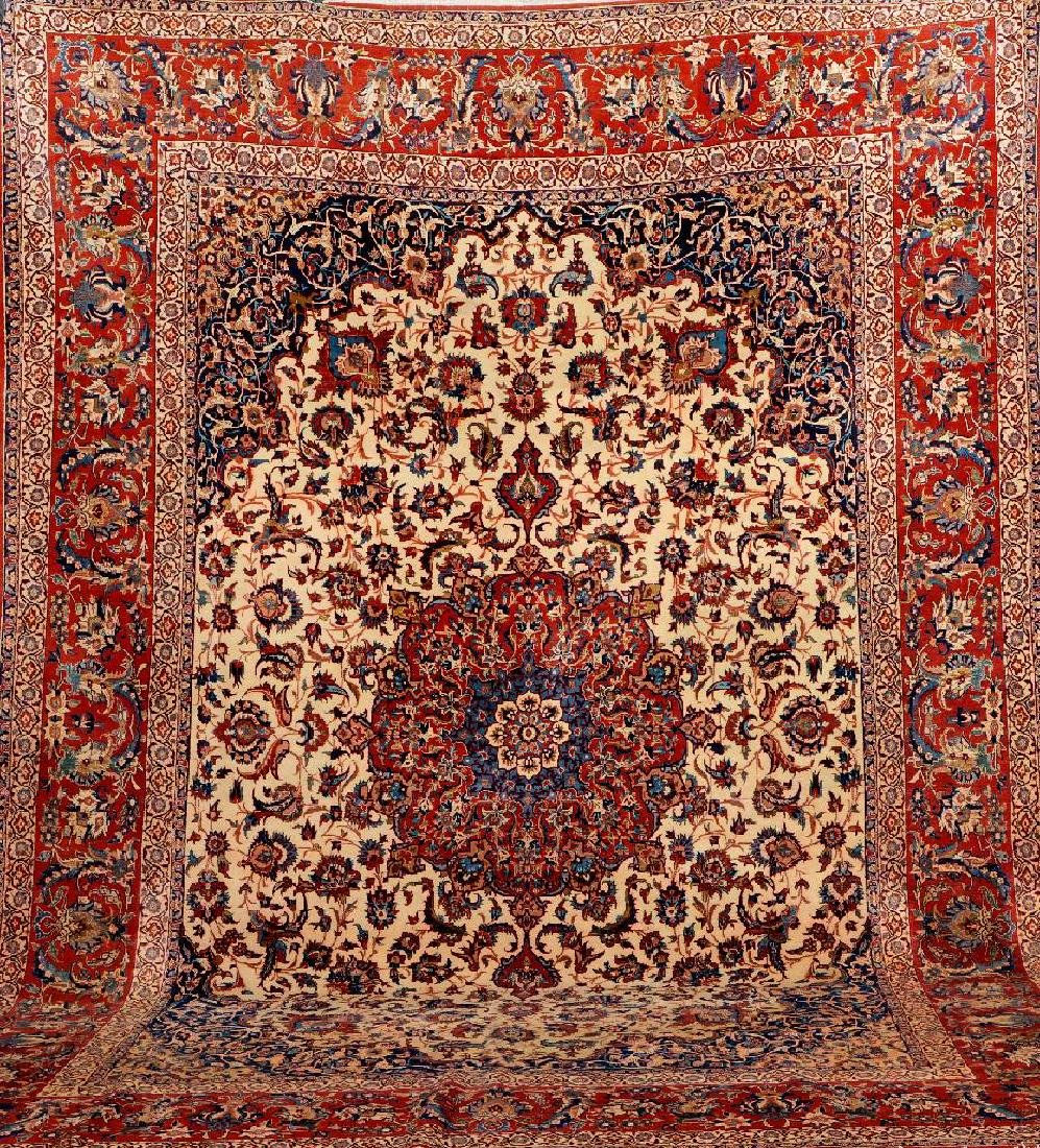 Isfahan Carpet,