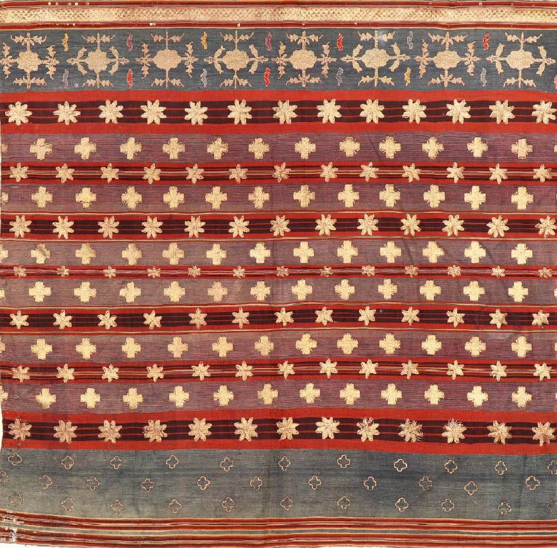 Silk & Metal-Thread 'Embroidery',