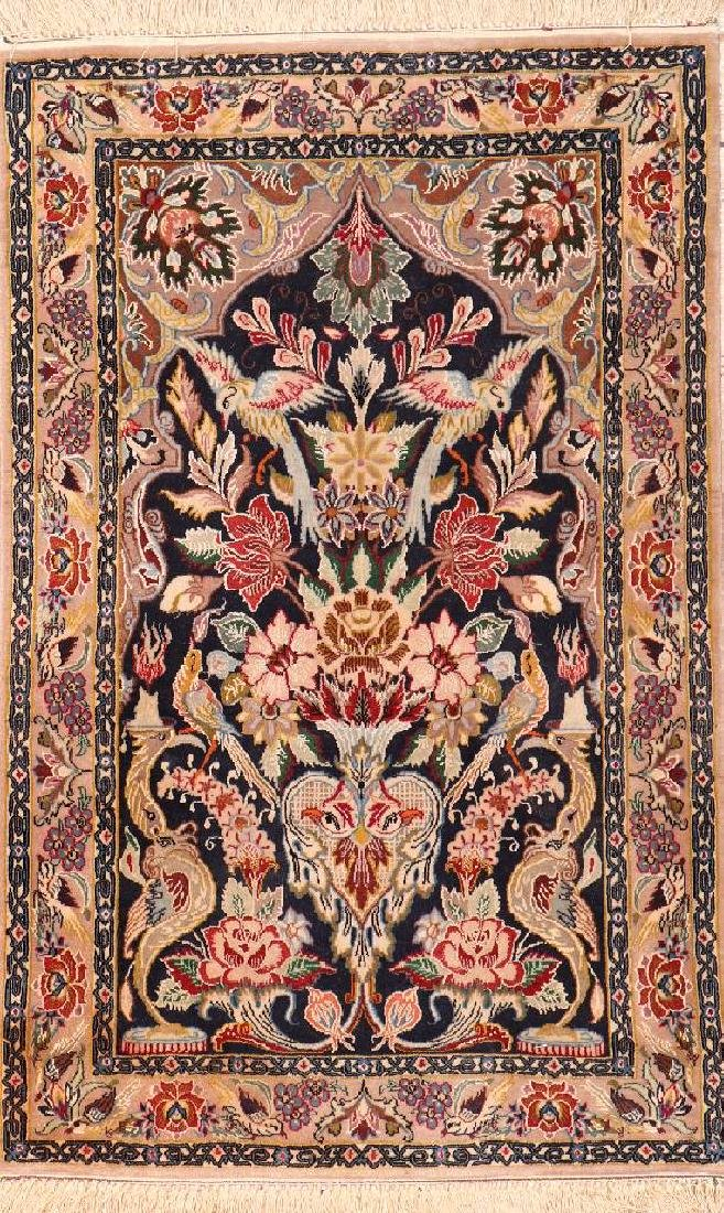 Fine 'Part-Silk' Isfahan Rug,