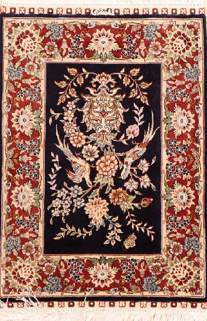 Chinese Silk Hereke Rug,