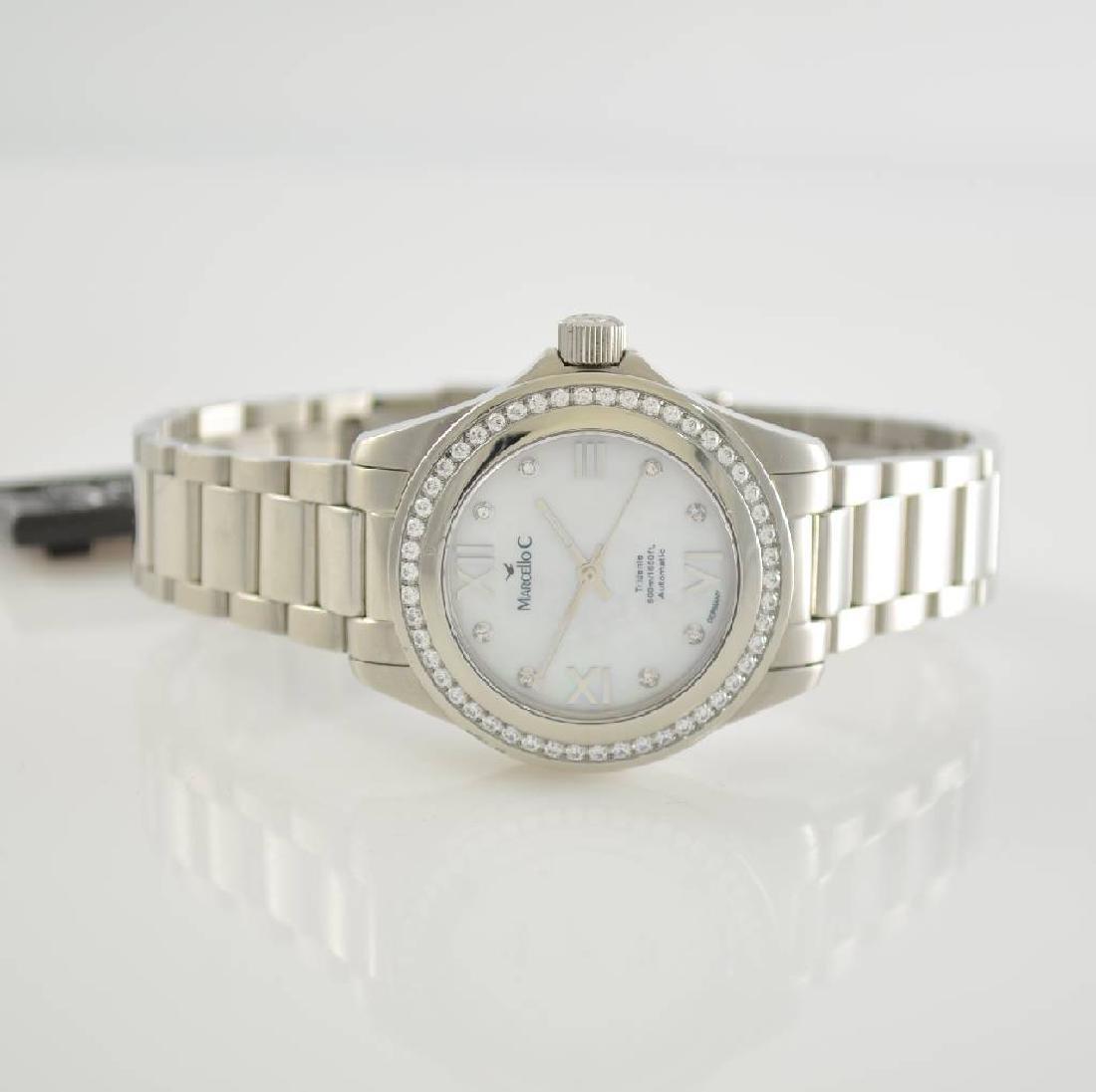 MARCELLO C ladies wristwatch series Tridente