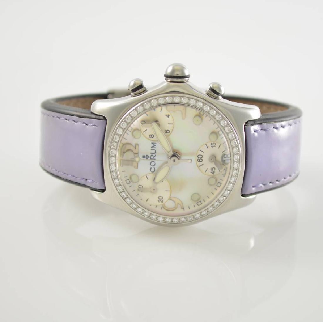 CORUM Bubble chronograph ladies wristwatch