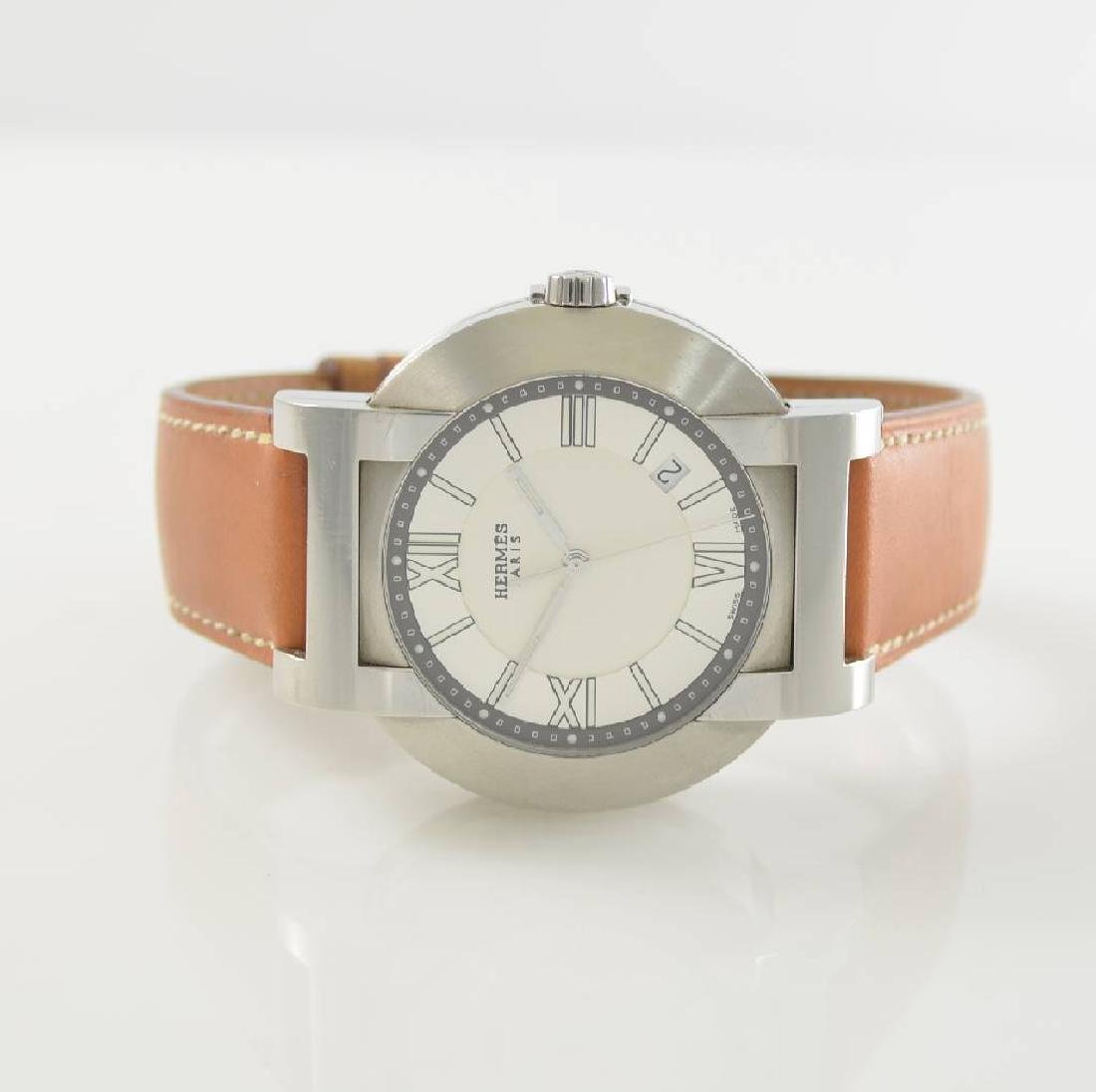 HERMES Nomade-Compass gents wristwatch