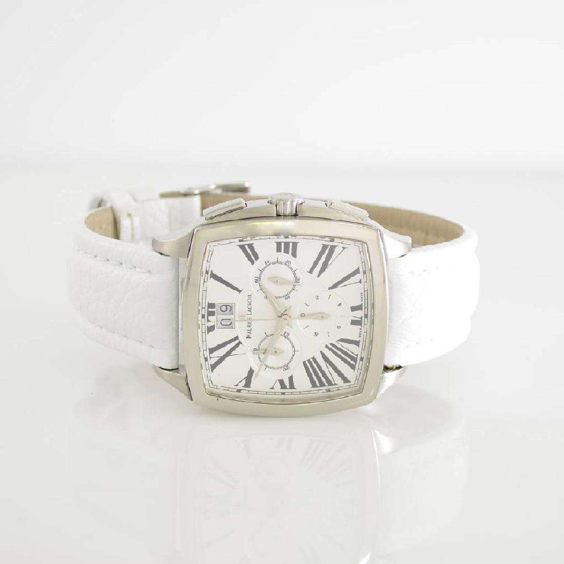 MAURICE LACROIX chronograph Miros Coussin