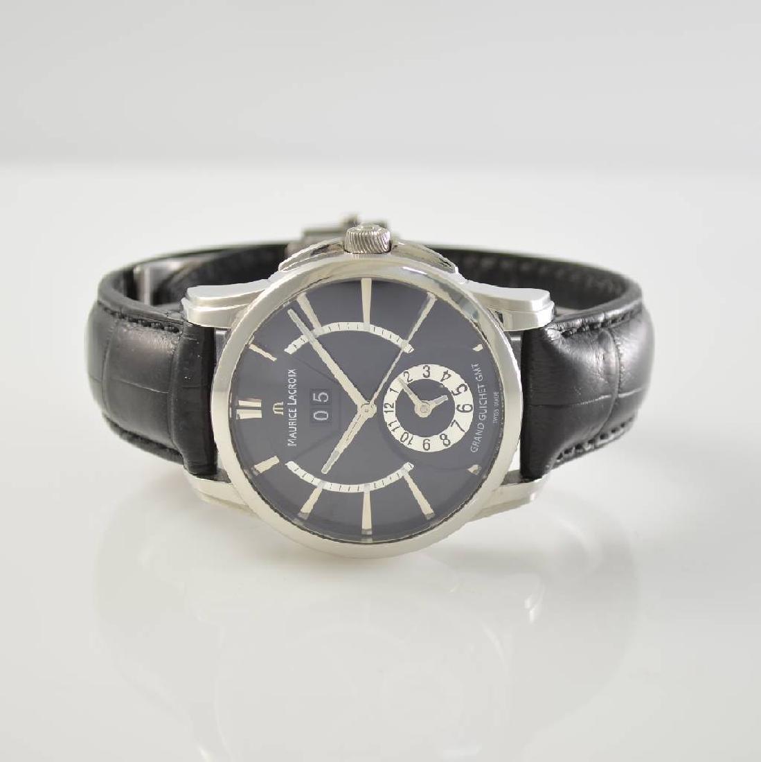 MAURICE LACROIX gents wristwatch model Grand Guichet