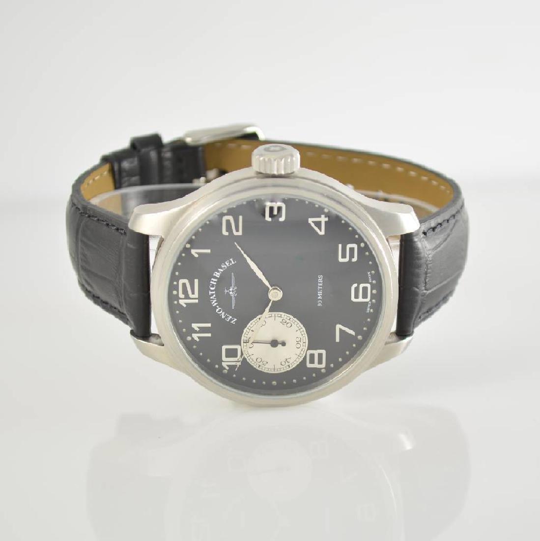 ZENO big manual wound gents wristwatch