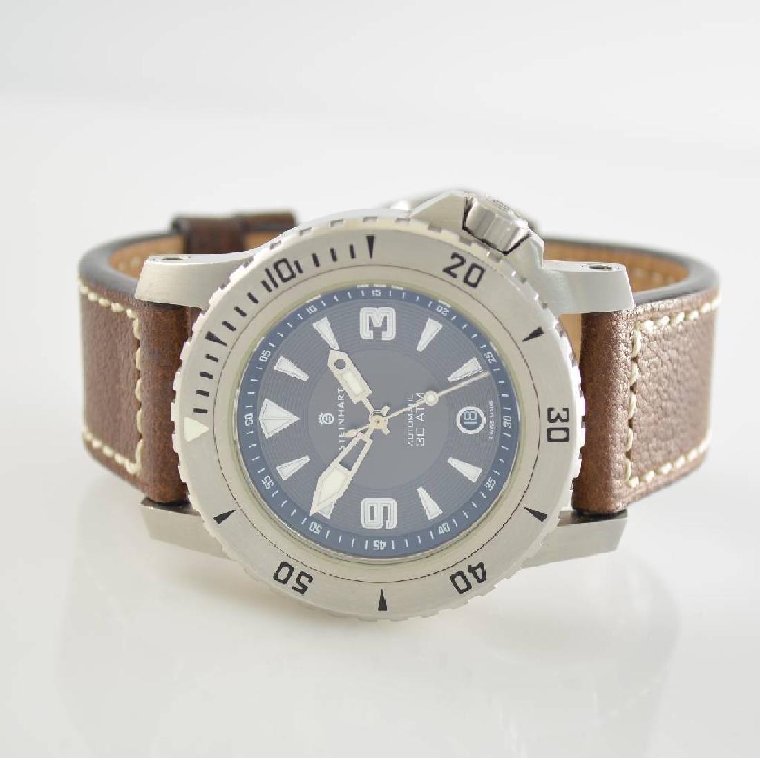 STEINHART Triton gents wristwatch in stainless steel