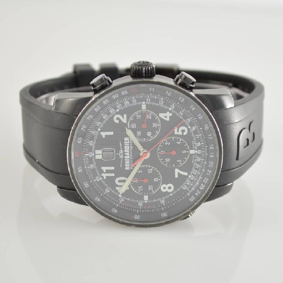 BOMBARDIER big automatic chronograph