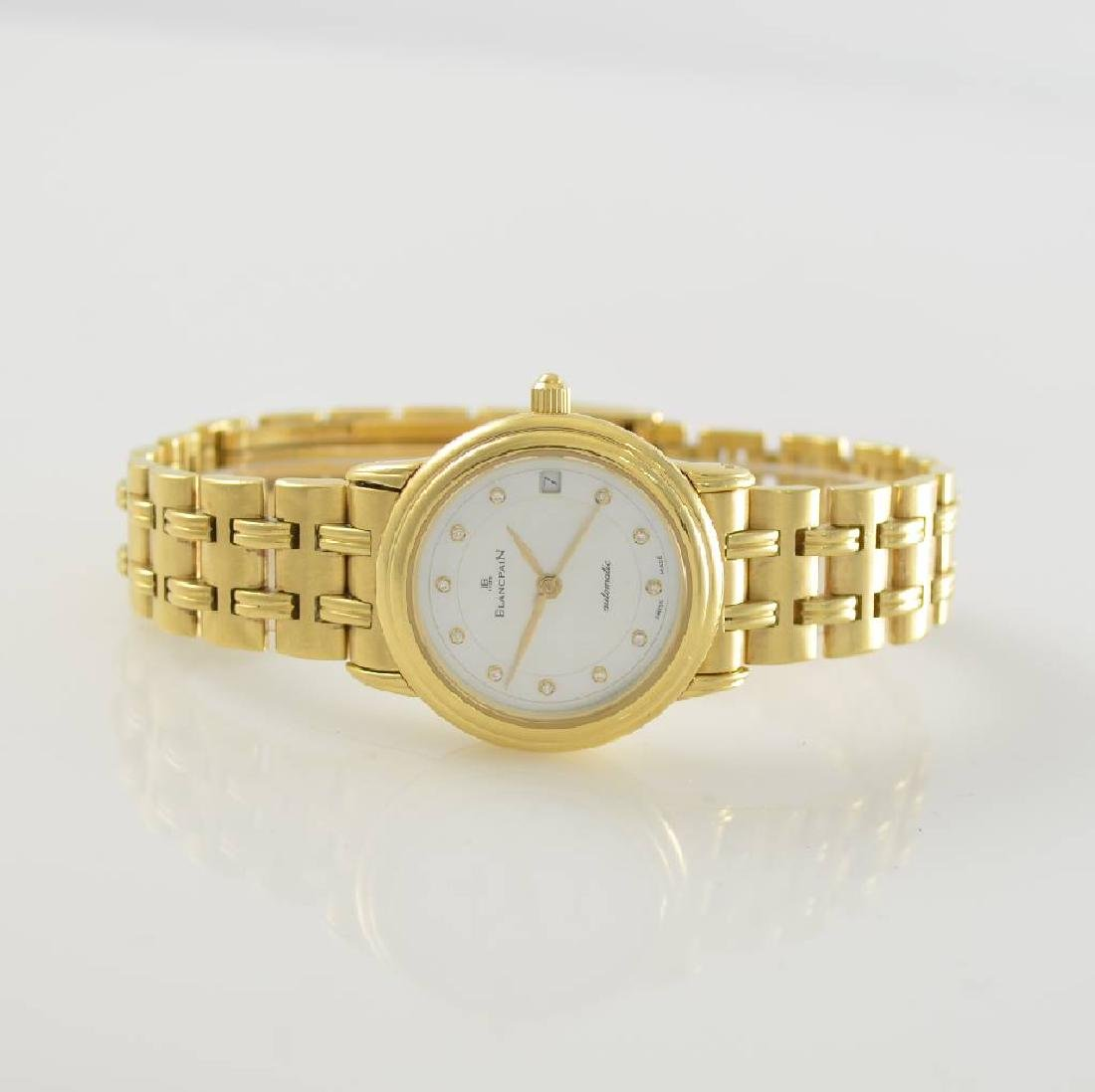 BLANCPAIN 18k yellow gold ladies wristwatch Villeret