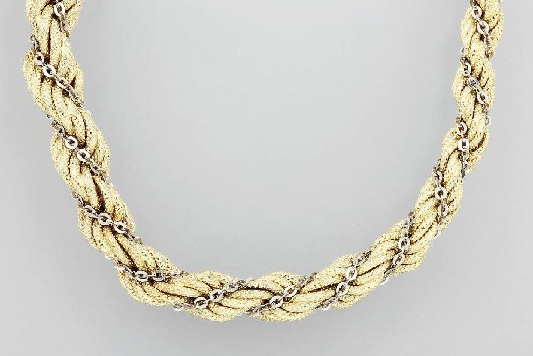14 kt gold cord necklace