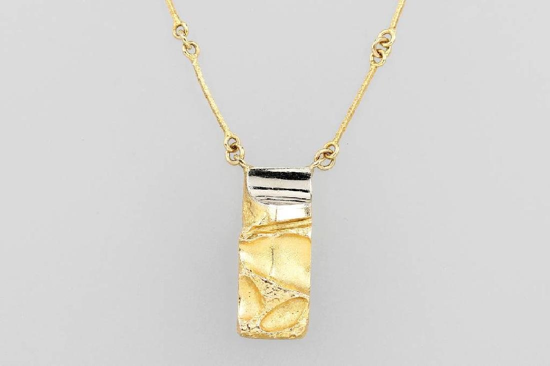 14 kt gold LAPPONIA necklace