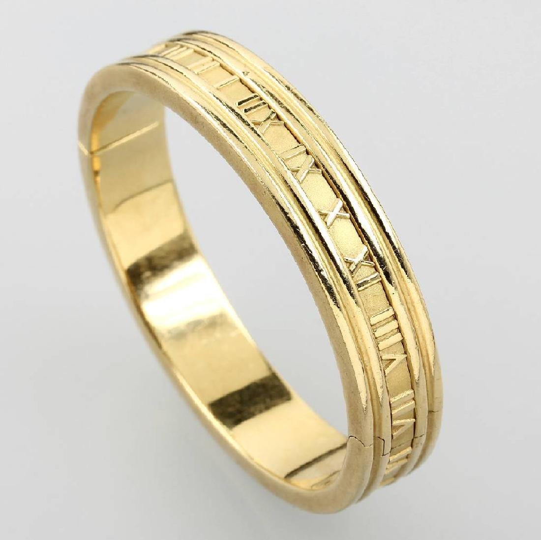 18 kt gold bangle TIFFANY & Co.
