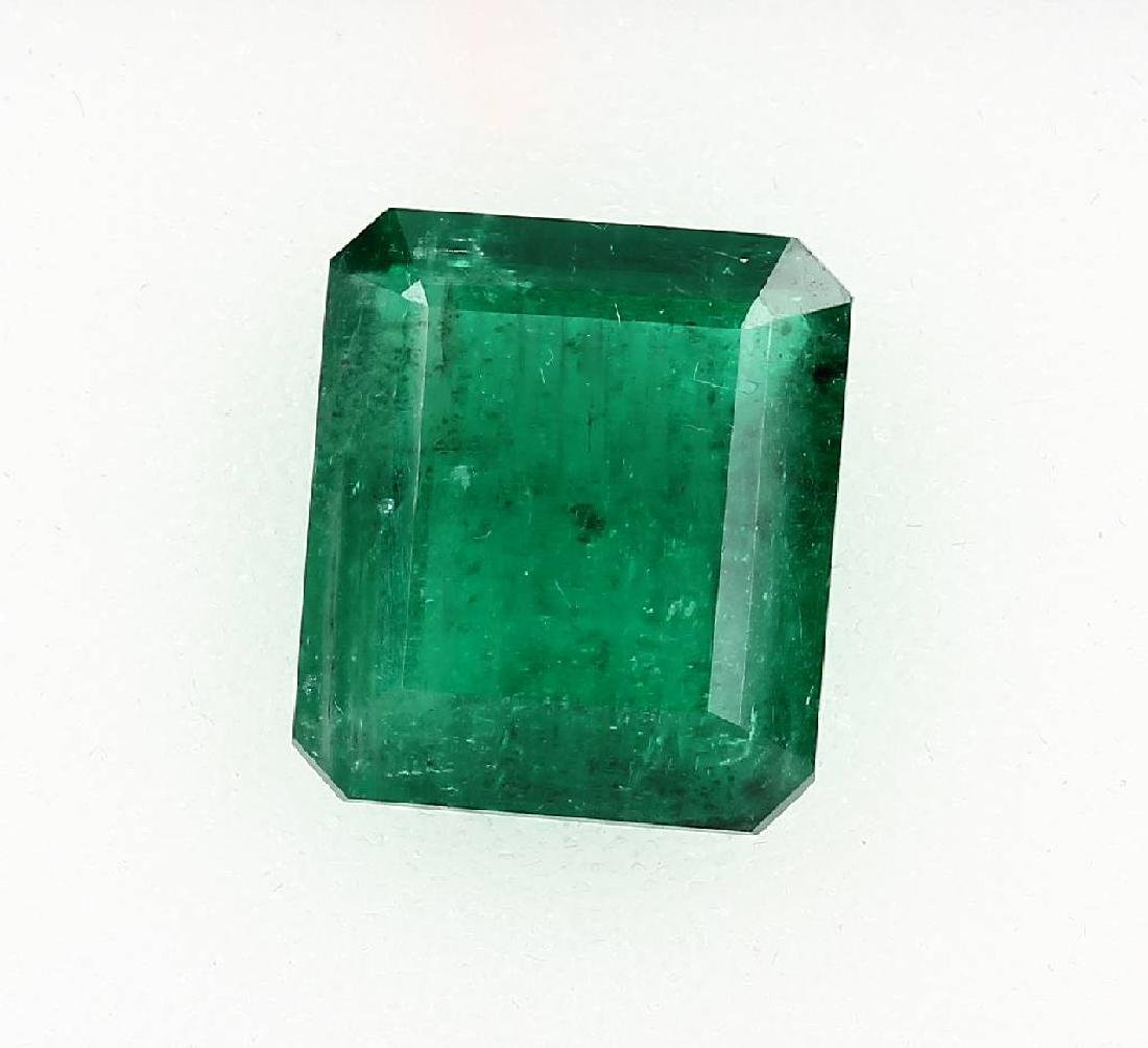 Loose emerald cut emerald