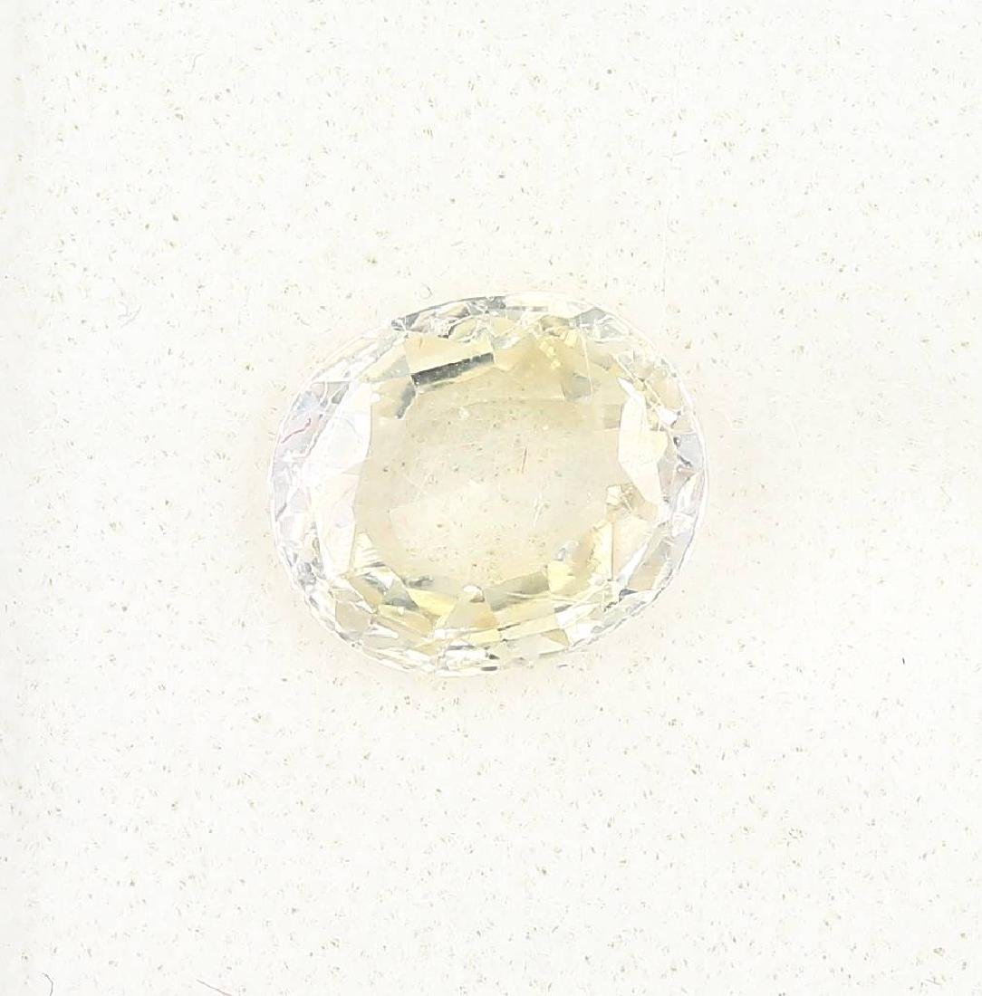Loose sapphire, approx. 3.17 ct