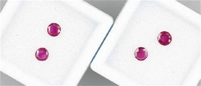 loose rubies total approx 1 ct