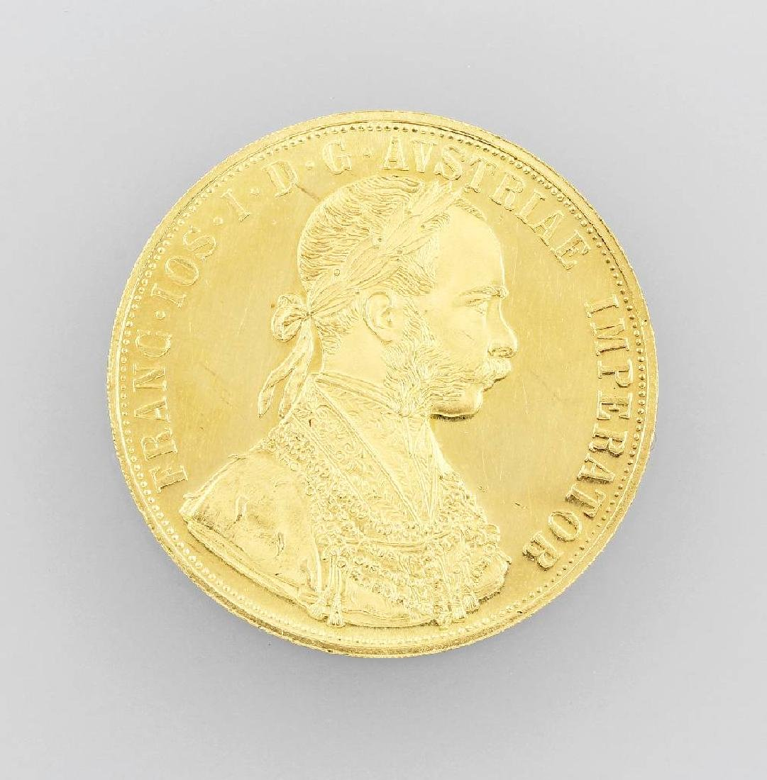 Gold coin, 4 ducats