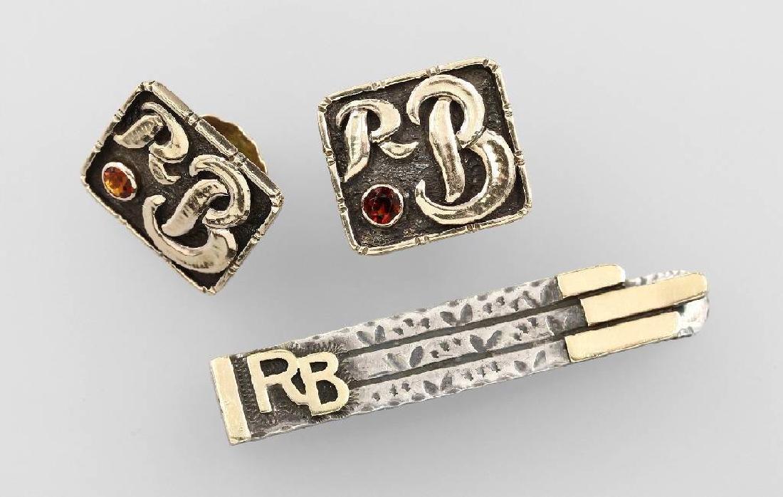 Gents jewellery set Richter von Berchem