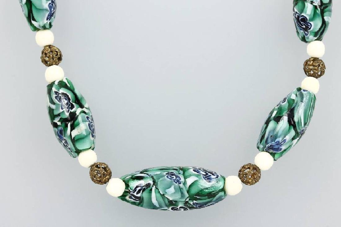 Necklace made of Muranoglass, Italy approx. 1930