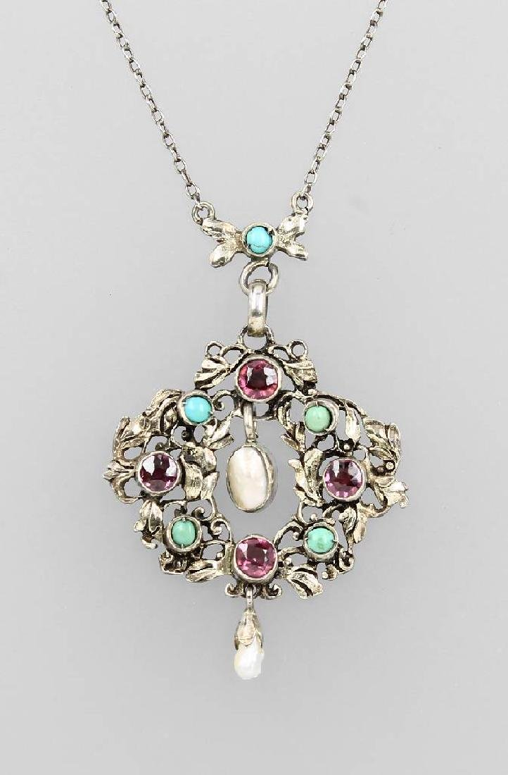 Necklace, Hungary approx. 1890, silver