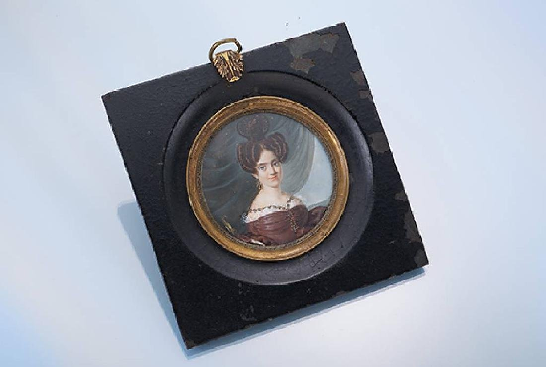 Miniature painting, approx. 1835/38