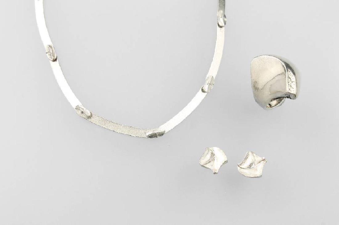 LAPPONIA Jewelry set, silver 925, Finland