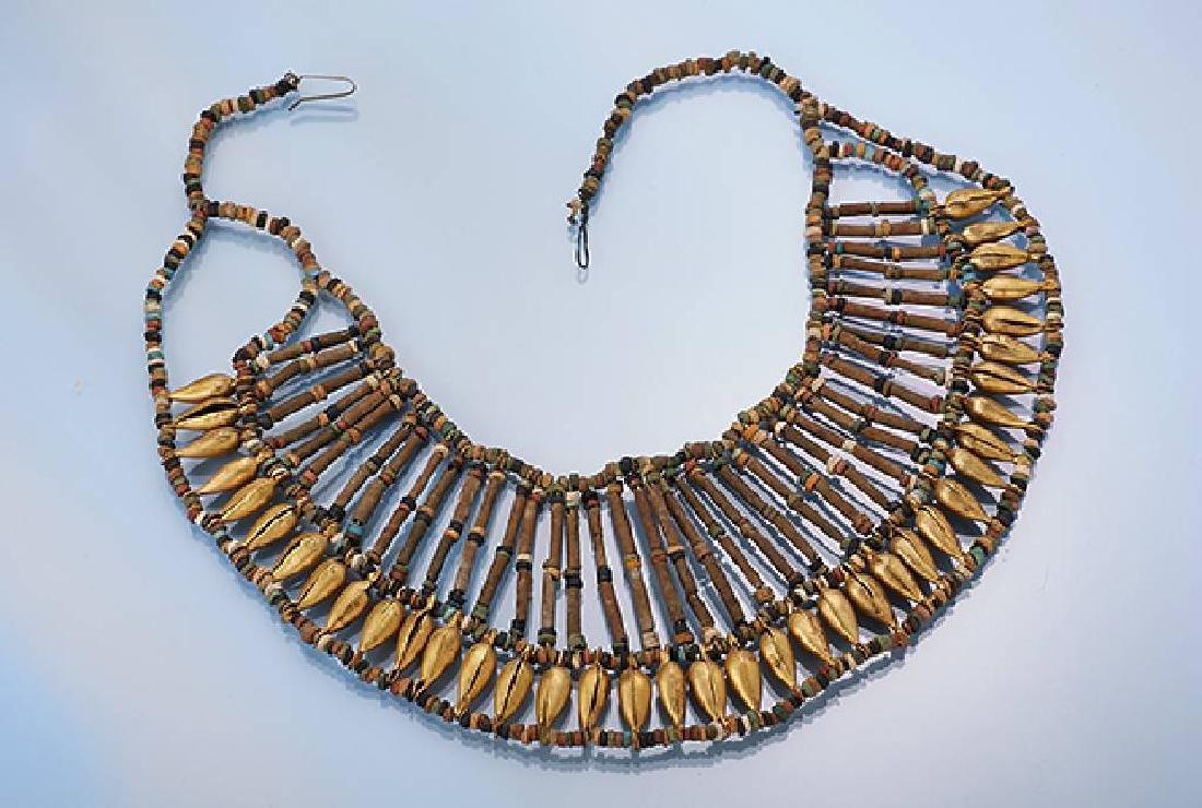 Necklace collar, egyptizing 20th century