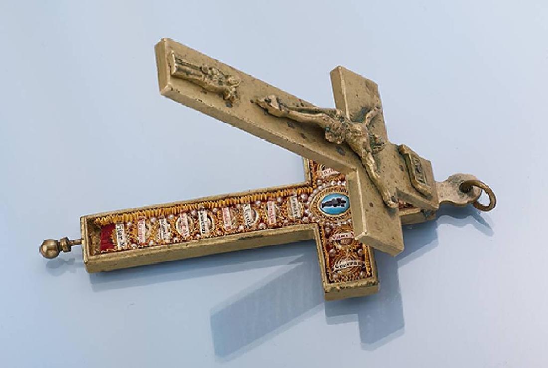 Pilgrim cross/votive cross, german approx. 1870/80
