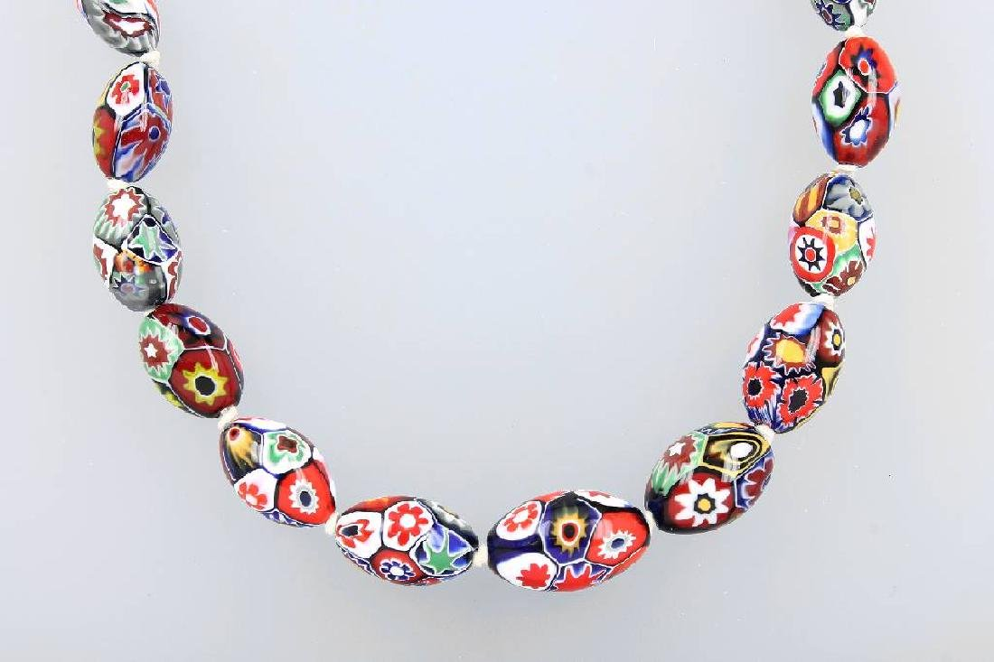 Necklace made of Murano-glass, Italy approx. 1930