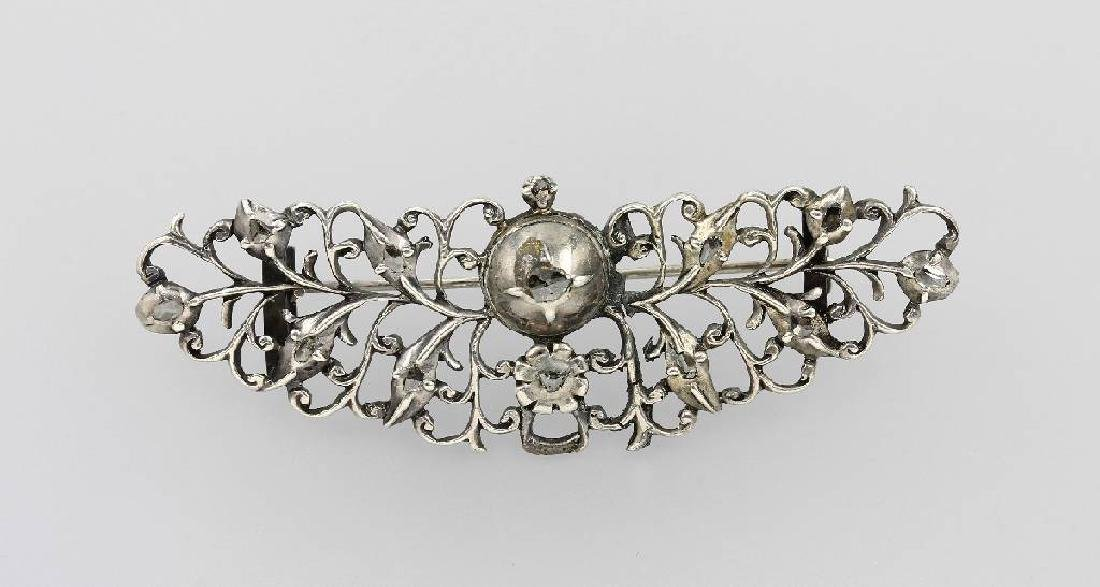 Brooch with diamonds, Belgium 1770/80