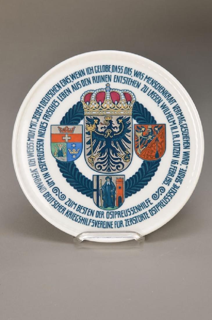 plate 'East Prussia' KPM