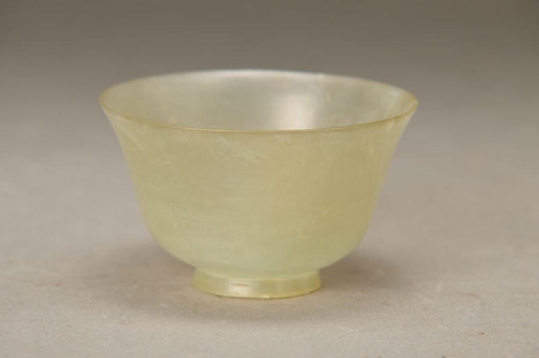 Jade bowl, China